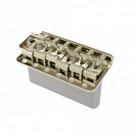 Vintage Style Stratocaster Replacement Tremolo Bridge Narrow String Spacing - Steel Sustain Block