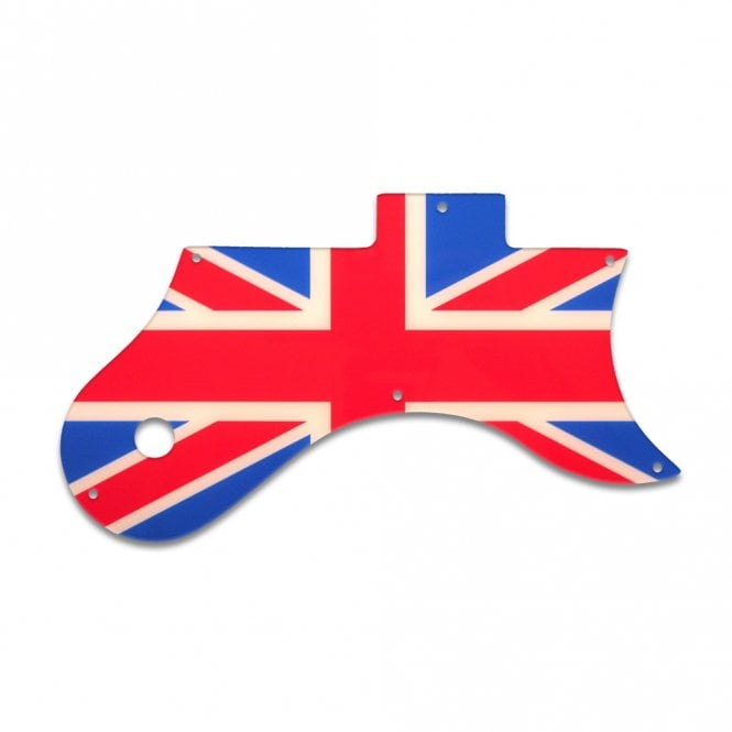 WD Music L-6S - British Flag