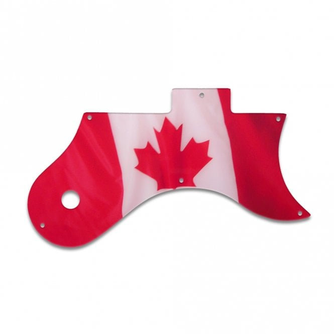 WD Music L-6S - Canadian Flag