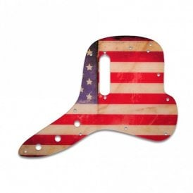 Musicmaster Bass - American Flag Relic