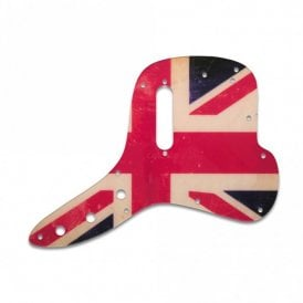 Musicmaster Bass - British Flag Relic
