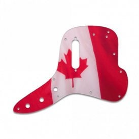 Musicmaster Bass - Canadian Flag