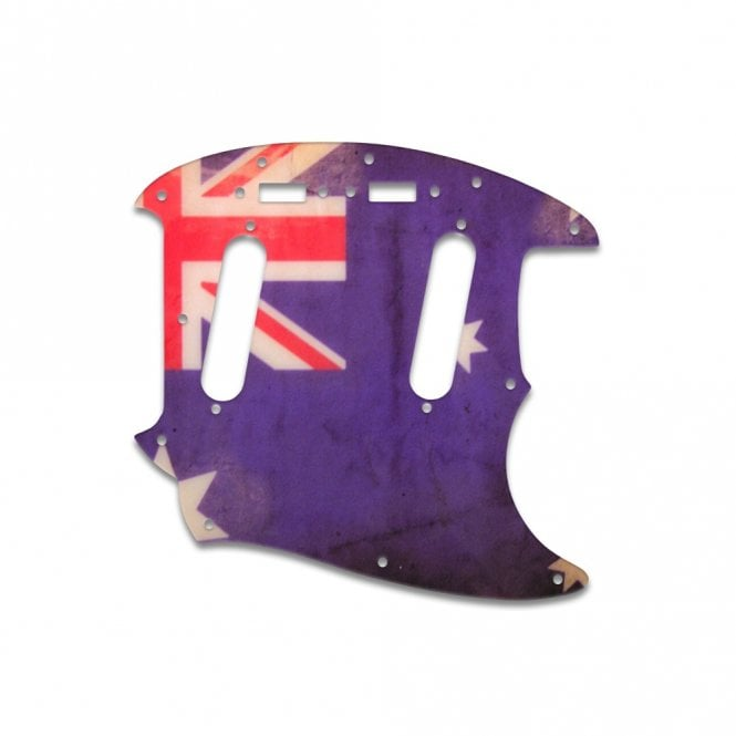 WD Music Mustang - Aussie Flag Relic