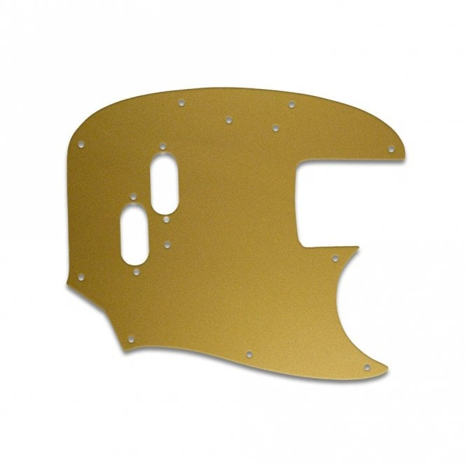 WD Music Mustang Bass - Gold/Clear/Gold