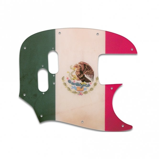 WD Music Mustang Bass (Re-Issue) - Mexican Flag Relic