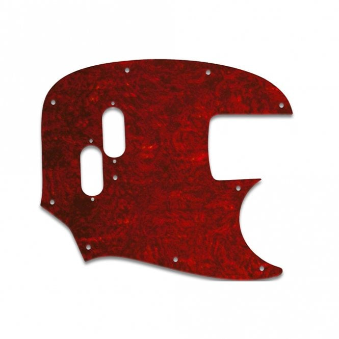 WD Music Mustang Bass (Re-Issue) - Pickguard Red Shell