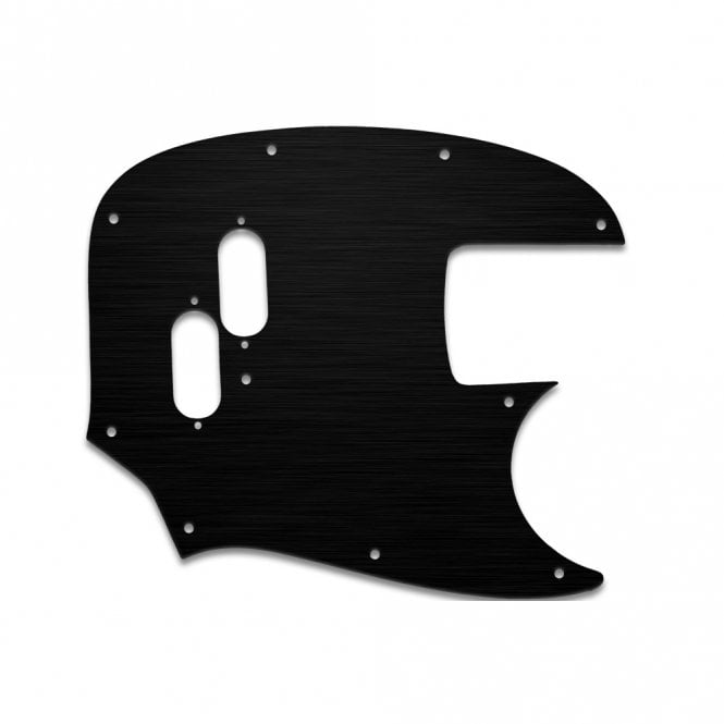 WD Music Mustang Bass (Re-Issue) - Simulated Black Ano Thin