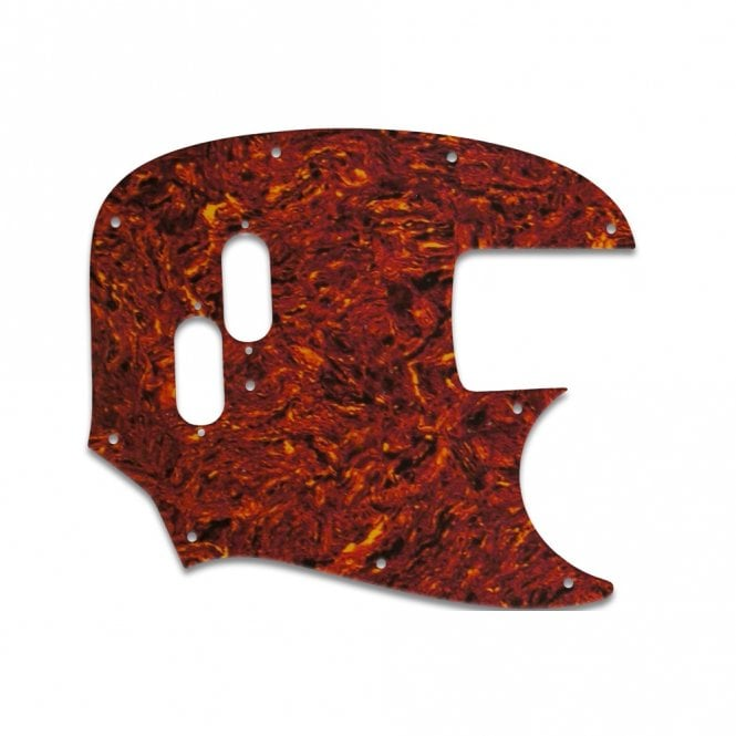 WD Music Mustang Bass (Re-Issue) - Tortoise Shell/Parchment Lamination