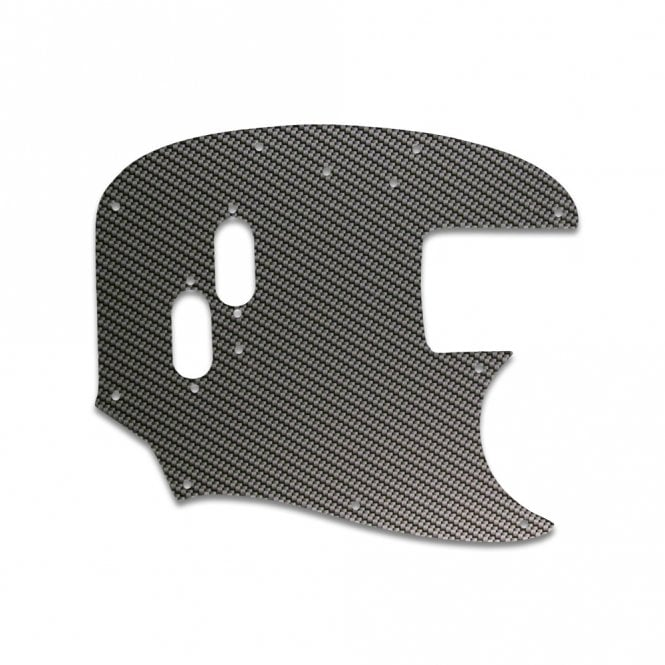 WD Music Mustang Bass - Simulated Carbon Fiber
