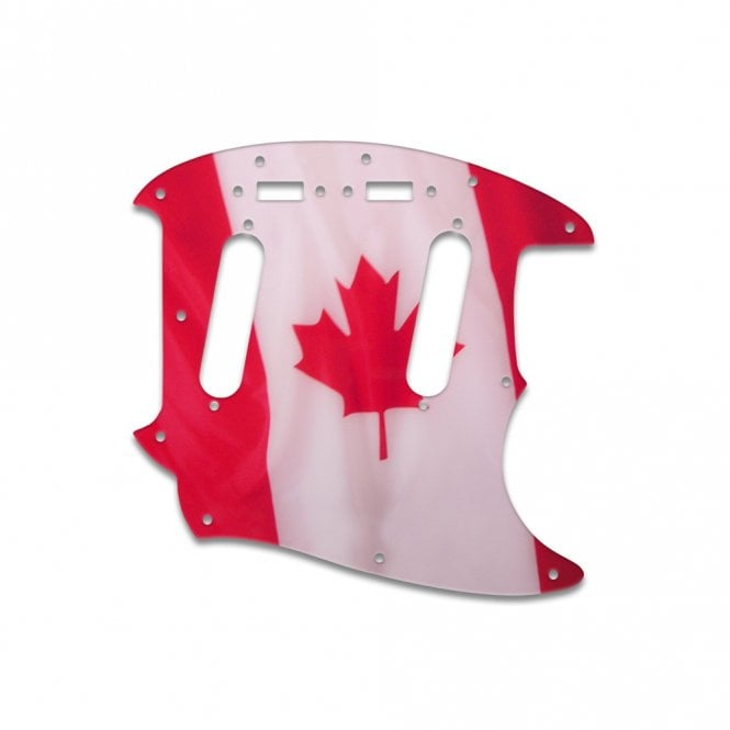 WD Music Mustang - Canadian Flag