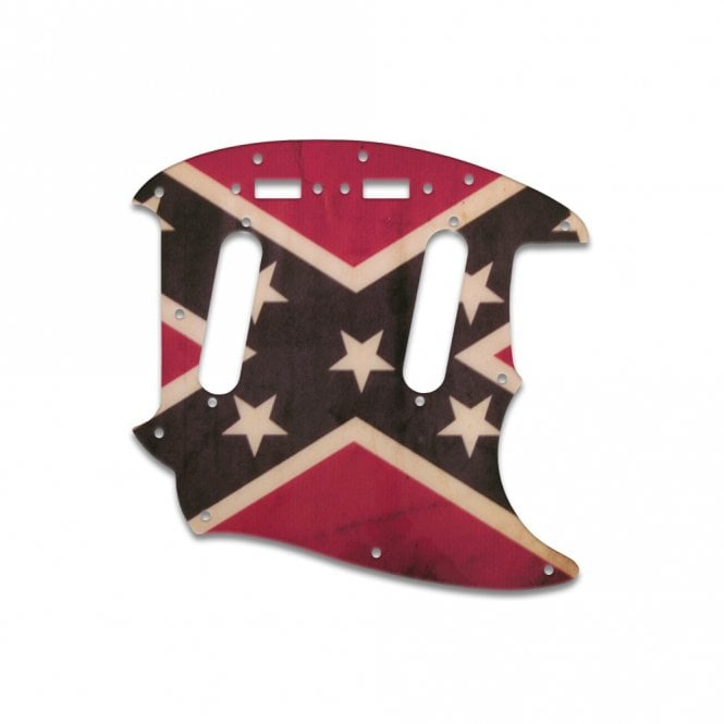 WD Music Mustang - Dixie Flag Relic