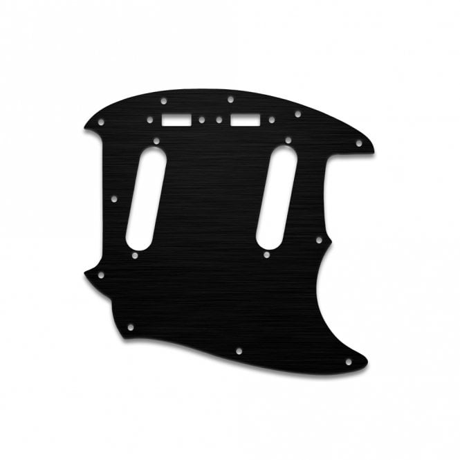 WD Music Mustang - Simulated Black Ano Thin