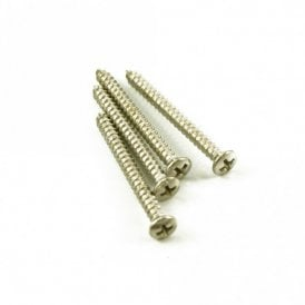 Neck Screw Nickel (Bag of 4)