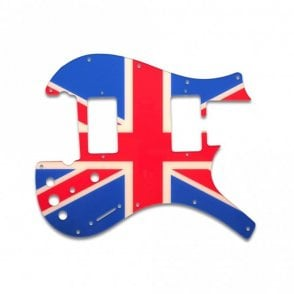 Nitefly - M (2 Humbucker) - British Flag