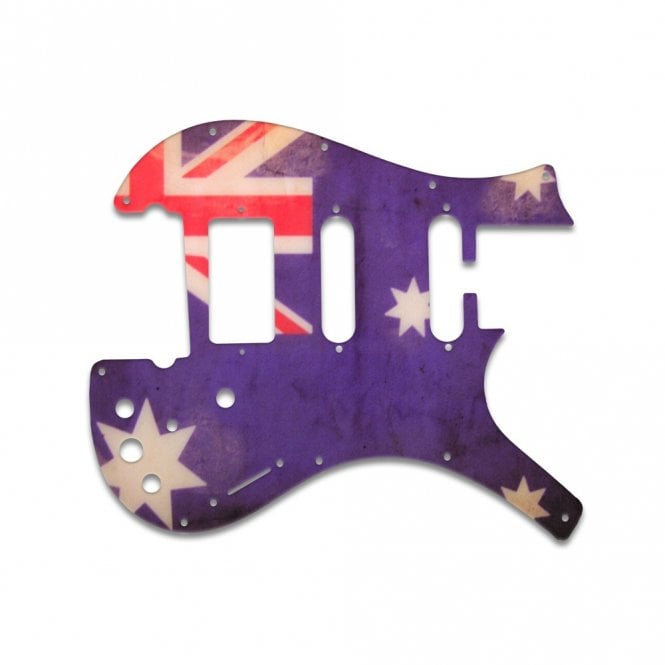 WD Music Nitefly - Sa (2S 1H) - Aussie Flag Relic