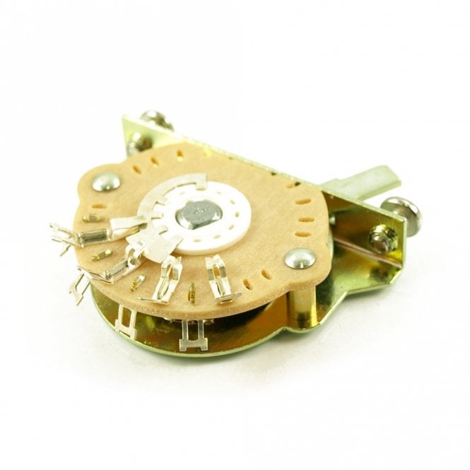 Oak 5 Way Lever Switch For Strat