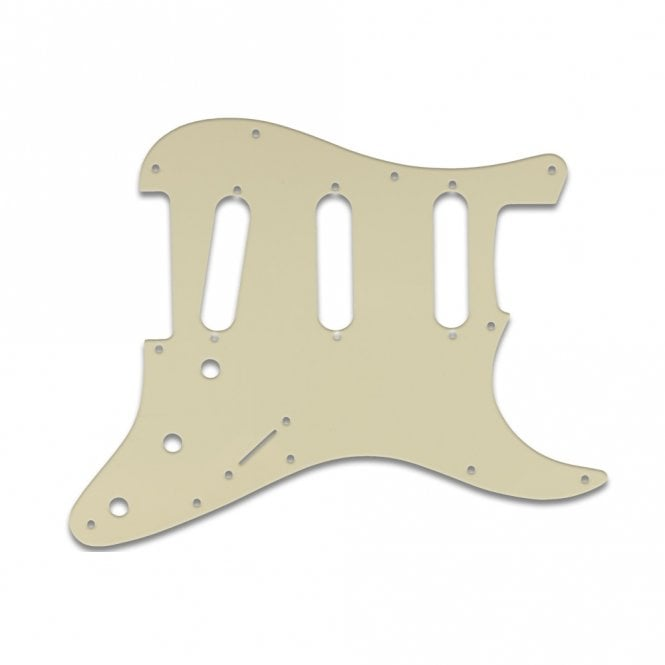 WD Music Old Style 11 Hole Strat - Parchment Thin .060