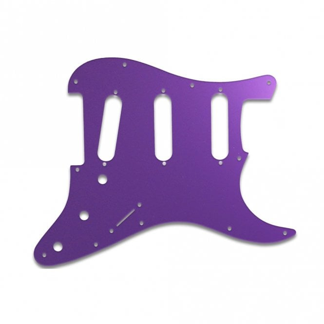 WD Music Old Style 11 Hole Strat - Purple Mirror