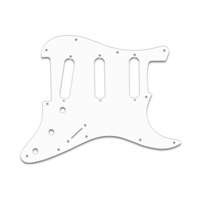 WD Music Old Style 11 Hole Strat - W/B/W