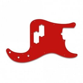 P Bass American Standard - Red White Red