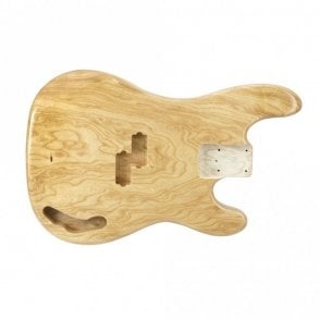 P bass body swamp ash clear