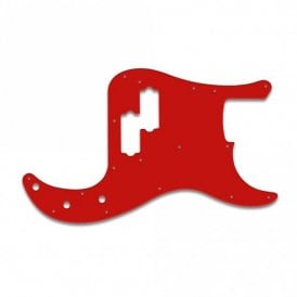 Precision Bass Vintage - Red / White / Red
