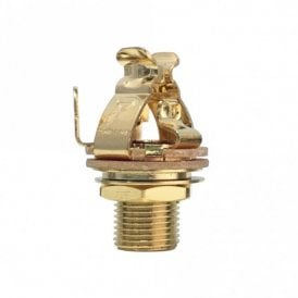 "Multi-Contact 1/4"" Output Jack Gold"
