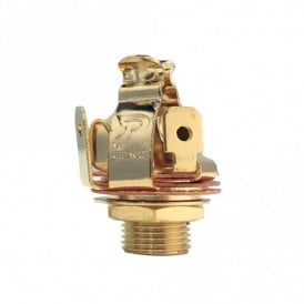 "Multi-Contact 1/4"" Output Jack Stereo, Gold Finish"