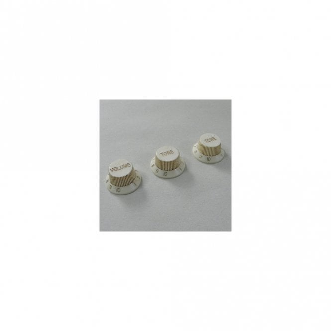 RetroVibe Collection 62 Strat Relic Control Knob Set