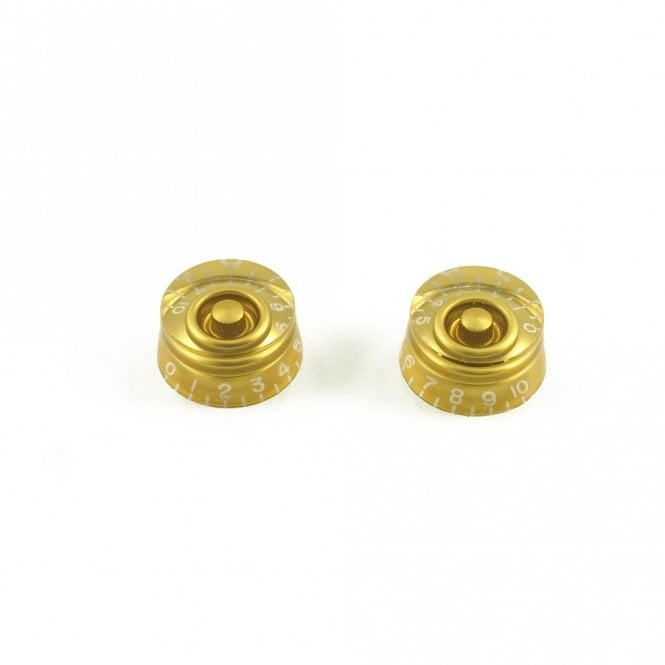 WD Music Speed Knob (Set of 2) Gold, USA fit and CTS pots