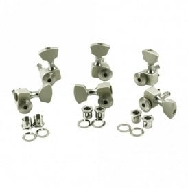 3 Aside Locking Guitar Tuners
