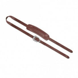 Steph thick cylone leather brown handmade strap