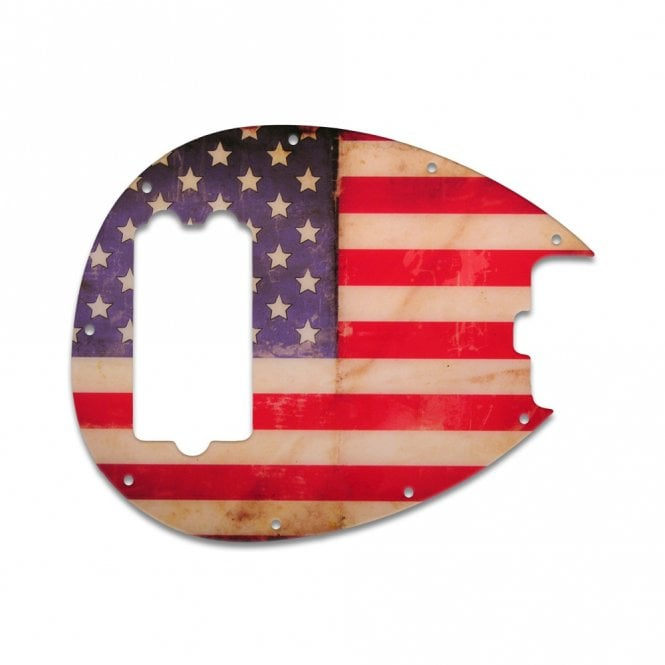 WD Music Sterling Bass - American Flag Relic
