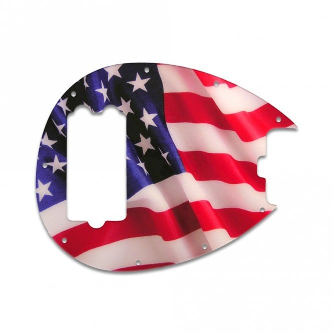 WD Music Sterling Bass - American Flag Waving