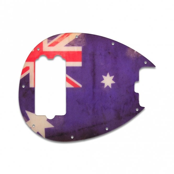 WD Music Sterling Bass - Aussie Flag Relic