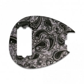 Sterling Bass - Black/Silver Paisley