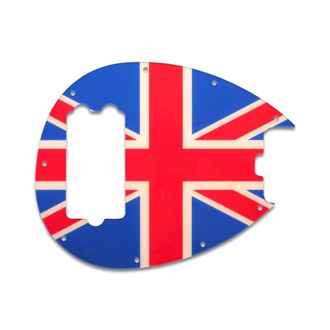 WD Music Sterling Bass - British Flag