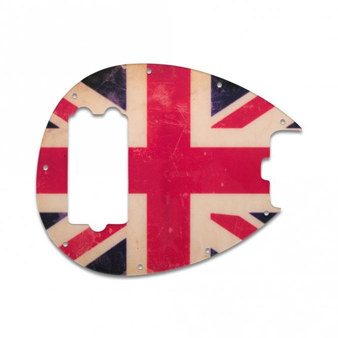 WD Music Sterling Bass - British Flag Relic