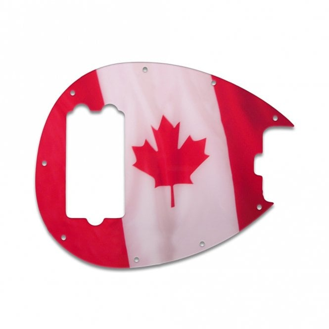 WD Music Sterling Bass - Canadian Flag