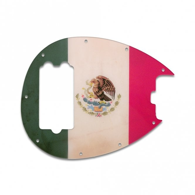 WD Music Sterling Bass - Mexican Flag Relic