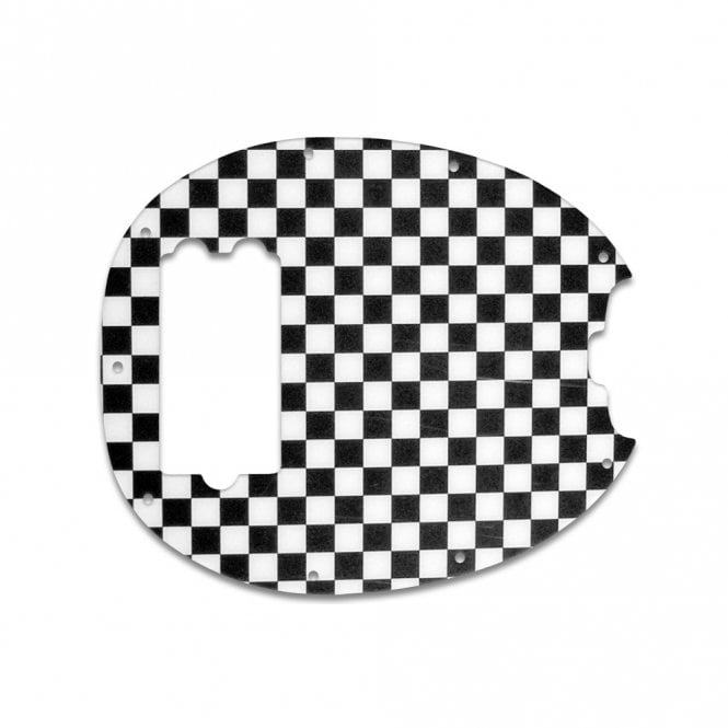 WD Music Stingray Bass - Checkerboard