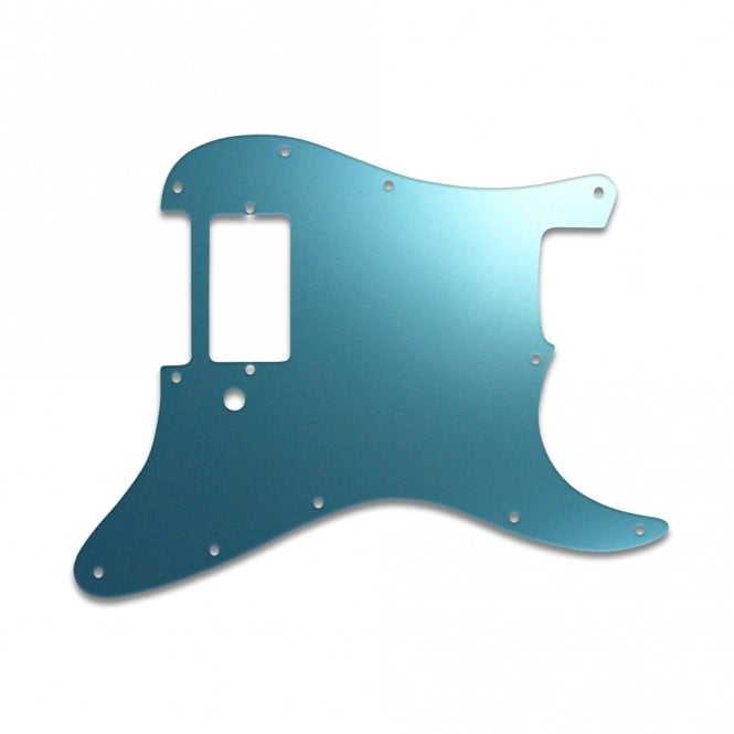 WD Music Strat 1 Humbucker Only - Blue Mirror