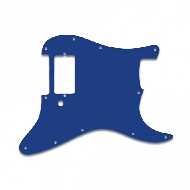 WD Music Strat 1 Humbucker Only - Blue White Blue