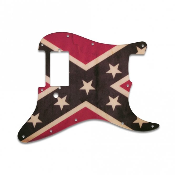 WD Music Strat 1 Humbucker Only - Dixie Flag Relic