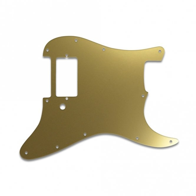 WD Music Strat 1 Humbucker Only - Gold Mirror