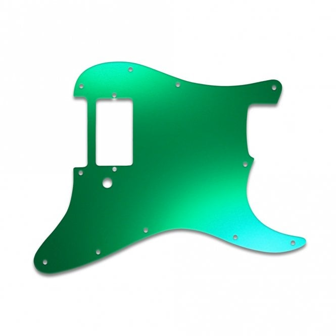 WD Music Strat 1 Humbucker Only - Green Mirror