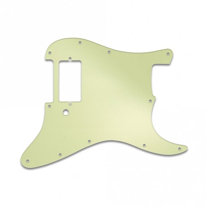 WD Music Strat 1 Humbucker Only  - Mint Green 3 Ply