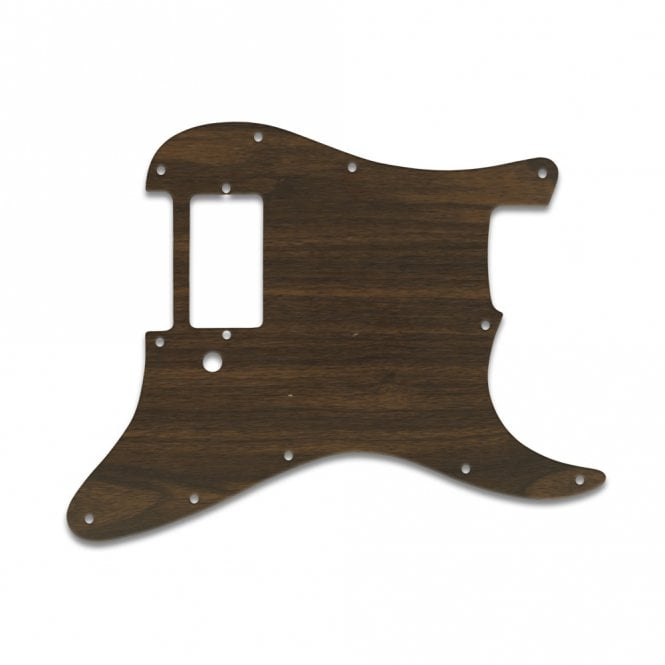WD Music Strat 1 Humbucker Only - Simulated Rosewood
