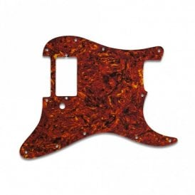 Strat 1 Humbucker Only - Tortoise Shell/Parchment Lamination
