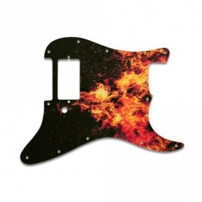 Strat 1 Humbucker Only - Wild Fire